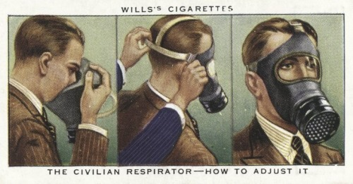 The civilian respirator - How to adjust it