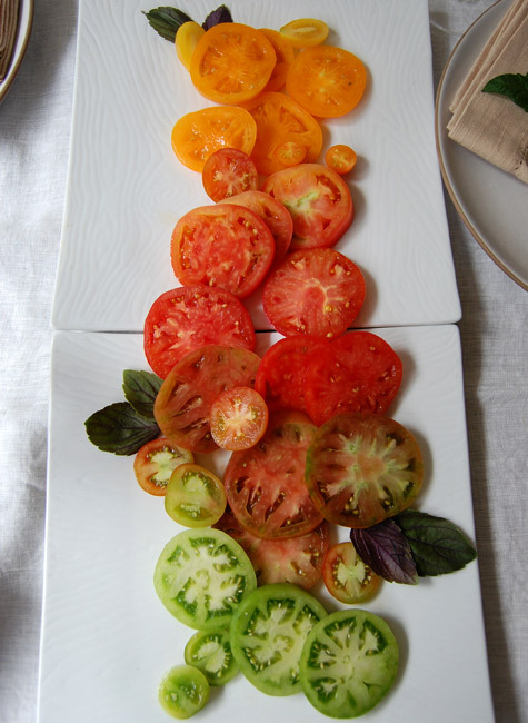 Tomato Gradiating Salad
