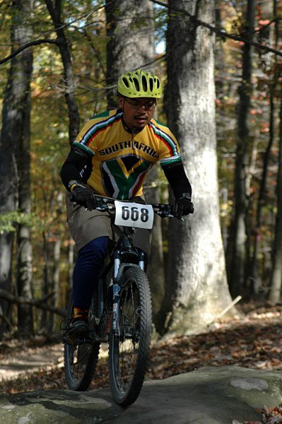 Me racing in a XC mountain bike race.  Studying?  Uh, maybe later. Submitted by reader Jun Zuniga!