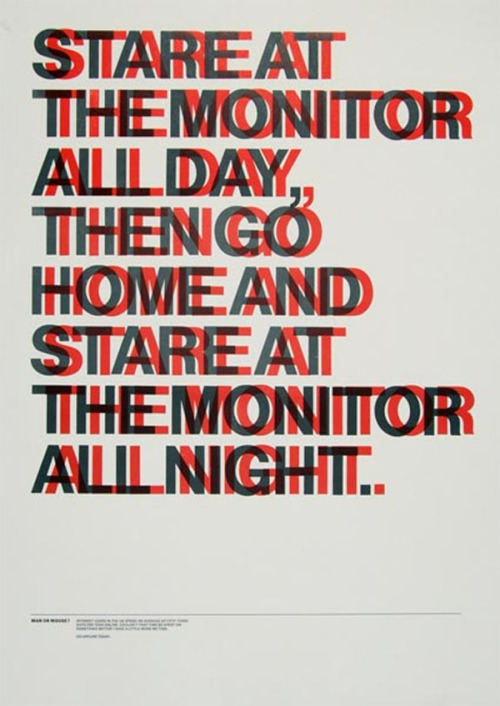 stare at the monitor all day fuck yeah helvetica