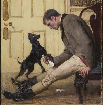 Jilted by Irish artist Briton Riviere<br />