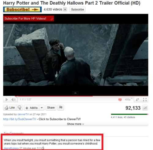 BLESS THAT COMMENT.