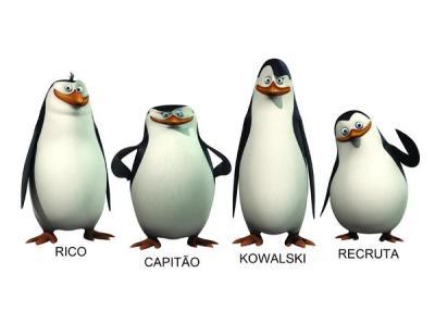 Faça como os pinguins de Madagascar: Sorria e acene.