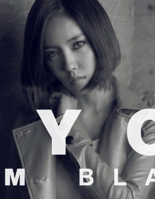 ccmgogo:  Hyomin : Black Eyes Album Jacket