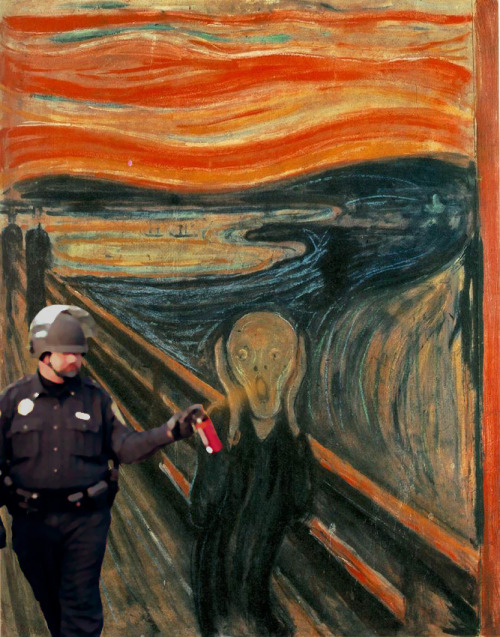 "Pepper Spray Cop and Edvard Munch's ""The Scream"""