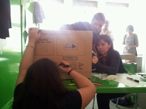 Dibujando la caja