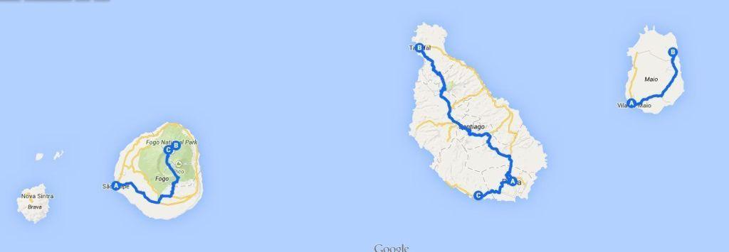Viajes de aventura a Cabo Verde con 3000km
