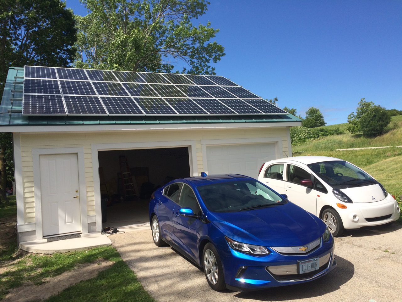 Bens Solar Garage Ford Panel Roof
