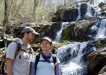 Ben and I in Shenandoah National Park