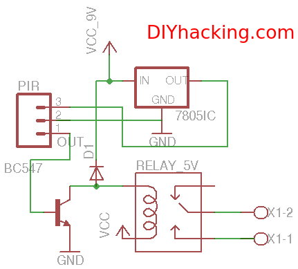 motion sensor light switch wiring diagram air fuel ratio gauge pir schematic passive infrared devices diagramwiring for online