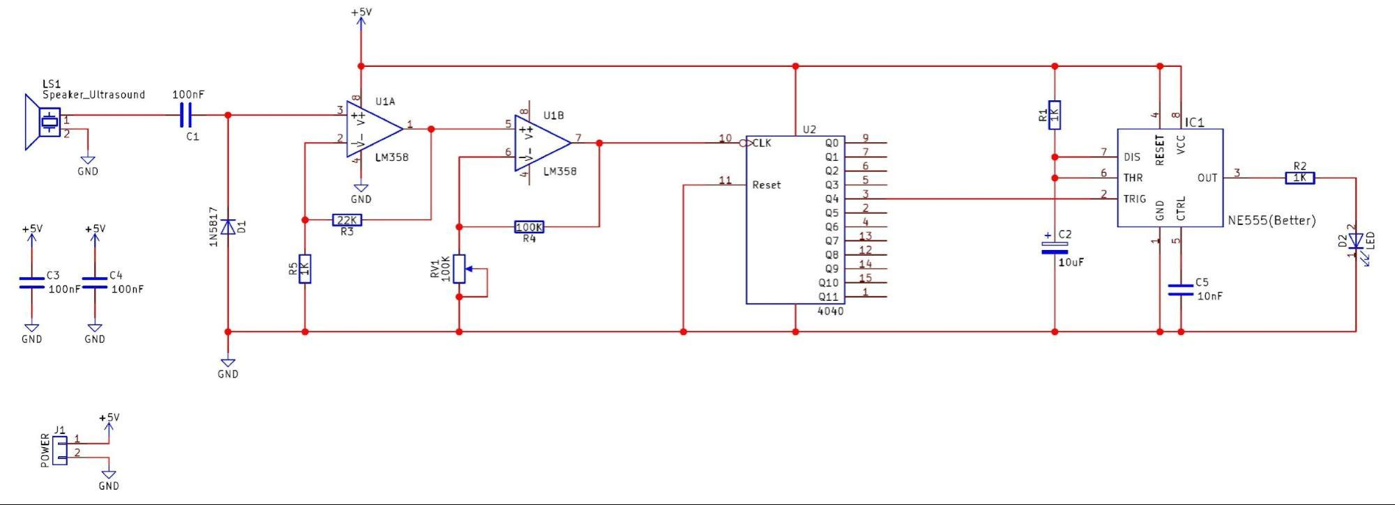 hight resolution of how to make a circuit that detects high frequencies the bat bat detector schematic image view