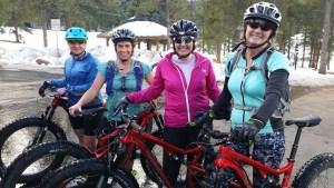 snow bike ladies