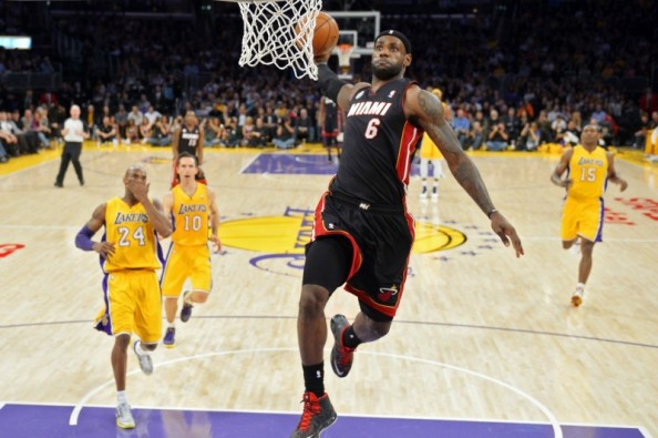 SPORTS: LeBron James in dunk contest?