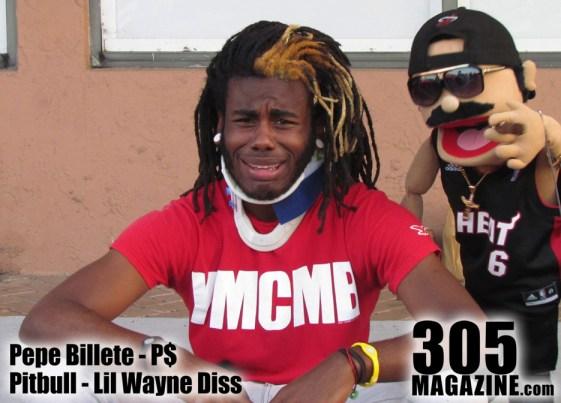 Pepe+Billete+Pitbull+Lil+Wayne+Diss
