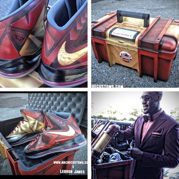 Mache+customs+LeBron+iron+man+3+kicks+all