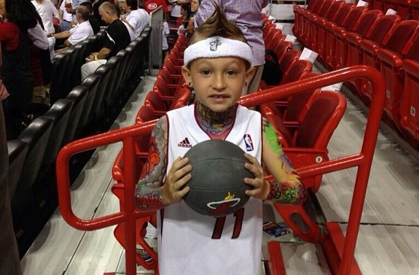 SPORTS: Miami Heat - Mini Birdman