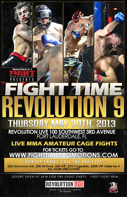 Fight Time Promotions: Revolution 9