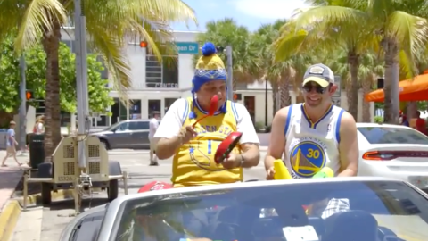 Papi's Miami Warriors Victory Parade