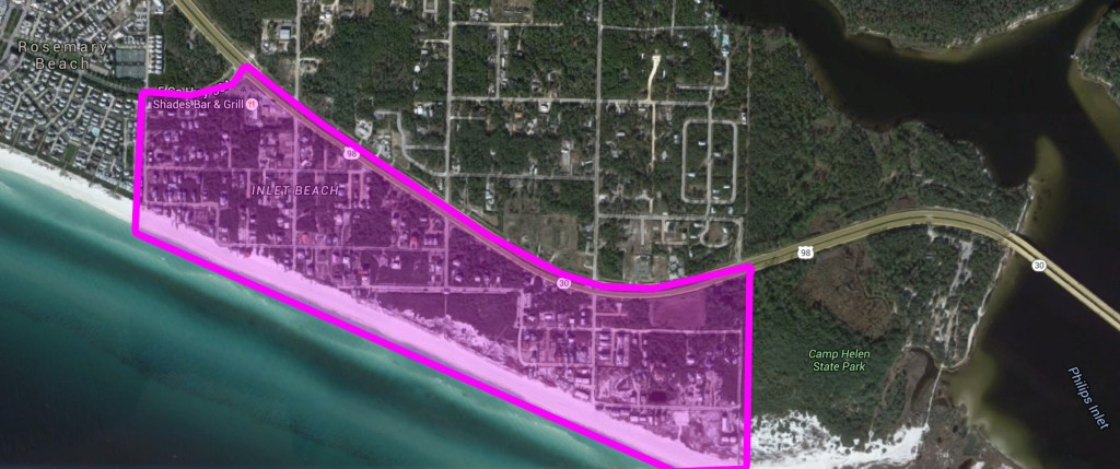 Inlet Beach Homes, Lots, and Land