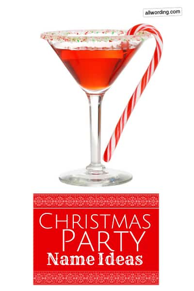 christmas party names 50
