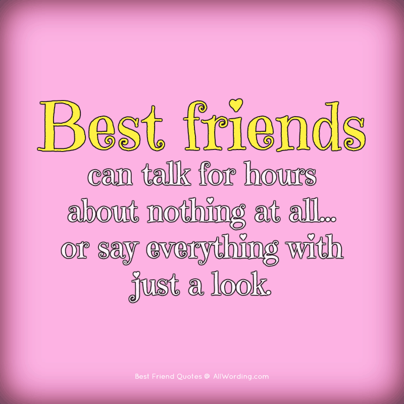 The Ultimate List Of Best Friend Quotes And Sayings Allwording Com