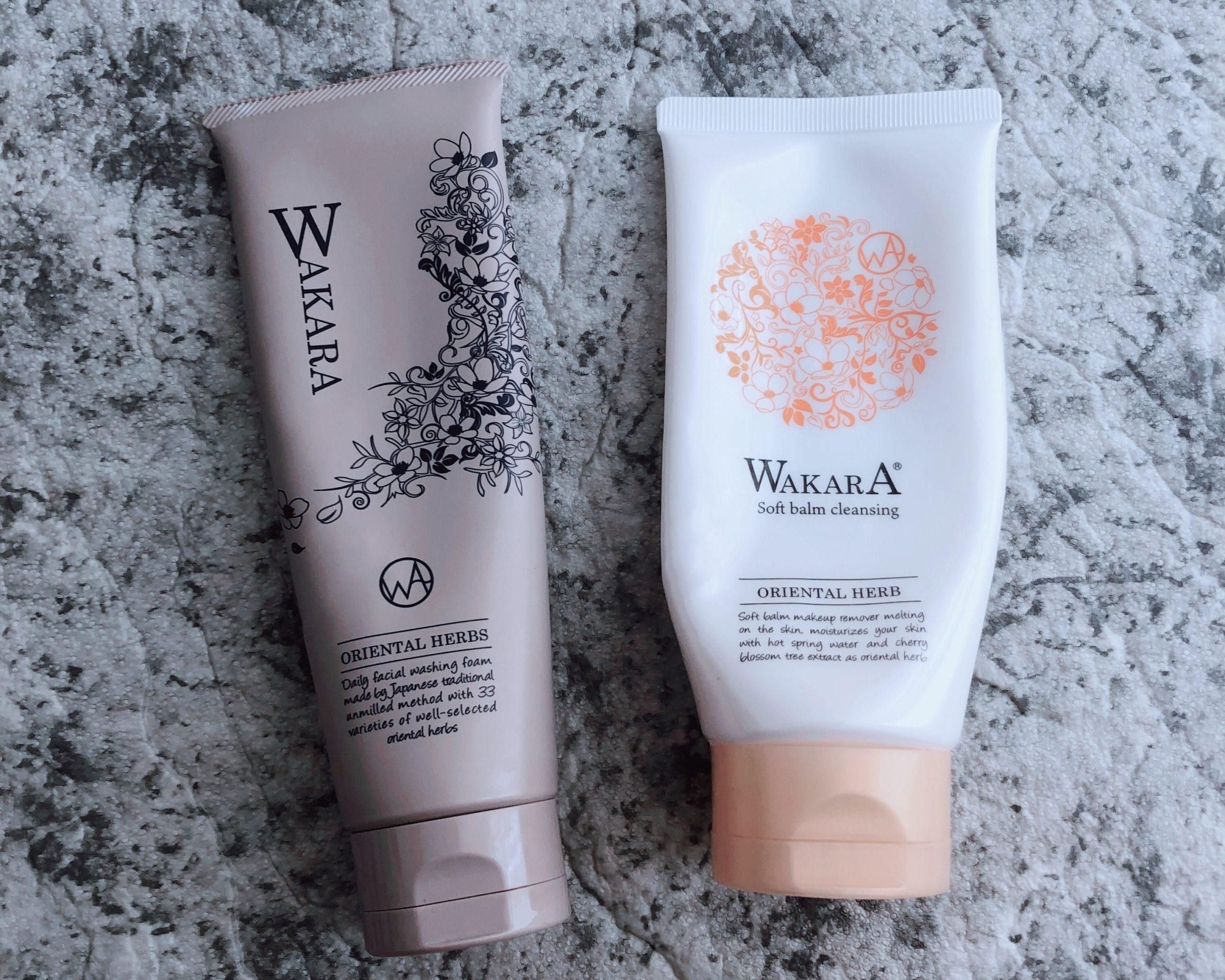 【やや辛口】WAKARAのバームクレンジング&洗顔料を乾燥肌が使ってみたレビュー