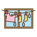 梅雨の部屋干しを早く乾かす一人暮らしでの工夫と生乾きを防ぐ方法
