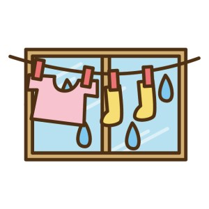 梅雨 部屋干し 早く乾かす