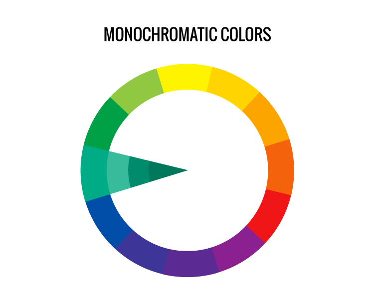 monochromatic colors, color wheel, color scheme