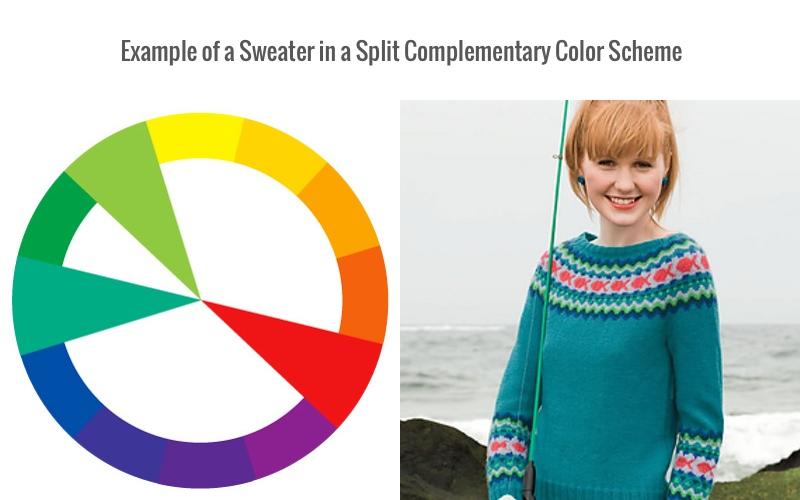 Split complementary colors, color scheme, color wheel