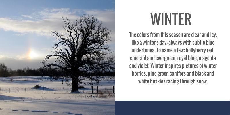 Color Analysis, seasonal, winter