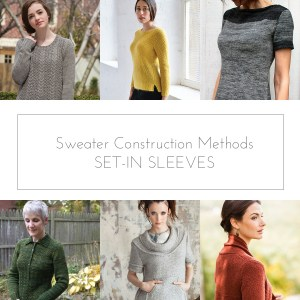 set-in sleeves sweater construction methods