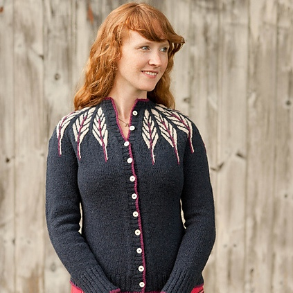 Pinion sweater pattern