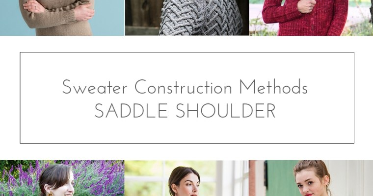 sweater construction saddle shoulder