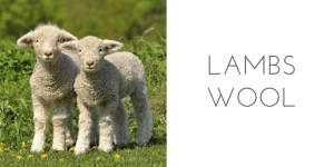 fiber types lambs wool