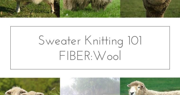 fiber types wool