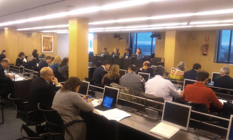 Comisión sobre Seguridad Vial y Movilidad Sostenible del Congreso de los Diputados - 30 Días en Bici