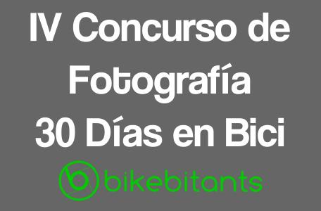IV Concurso de Fotografía 30 Días en Bici