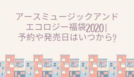 アースミュージックアンドエコロジー福袋2020|予約や発売日はいつから?