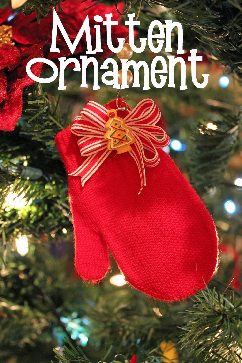 Super Simple And Fast Mitten Ornaments 30 Minute Crafts