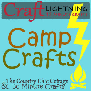 And 30 Minute Crafts Are Hosting A Craft Lightning With All Kinds 15 Camp Click On Over There For Some More Great Ideas