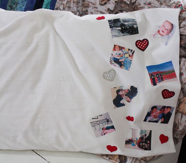 diy memory pillow 30 minute crafts