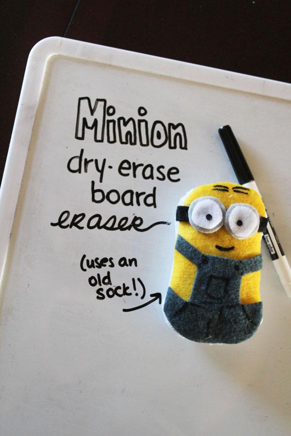 DIY Minion Dry Erase Board Eraser  30 Minute Crafts