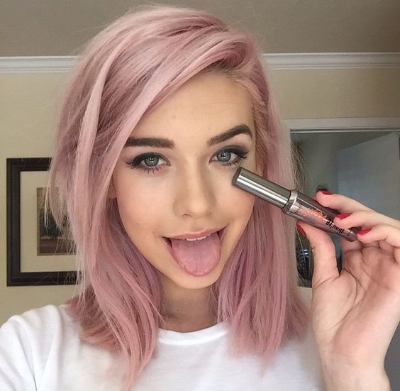 8 pastel hair ll