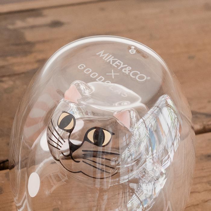 Lisa Larson 斑點貓 雙層杯(粉)   30select