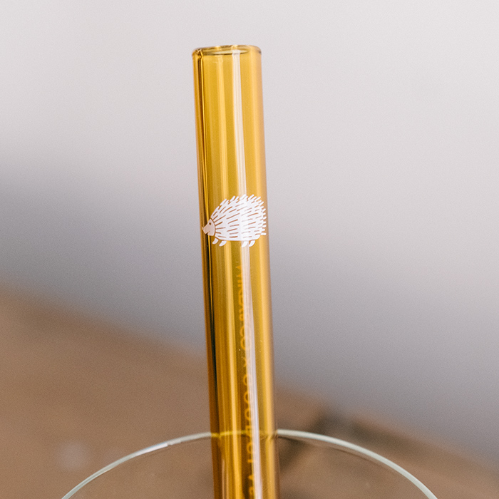 Lisa Larson貓 玻璃吸管組(粉&黃)   30select