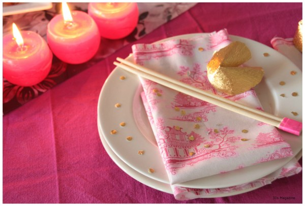 Chinese placesetting