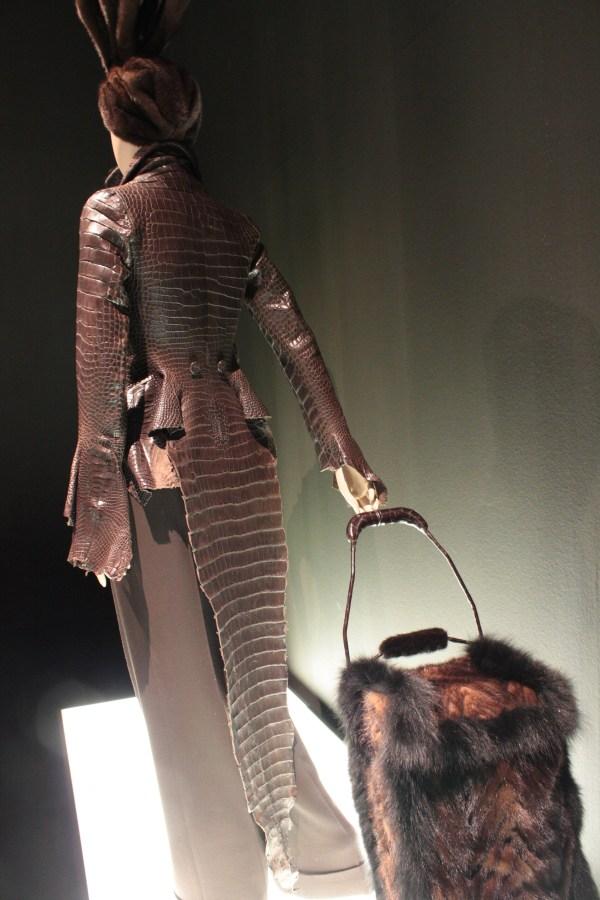 crocodileleather coat Jean Paul Gautier