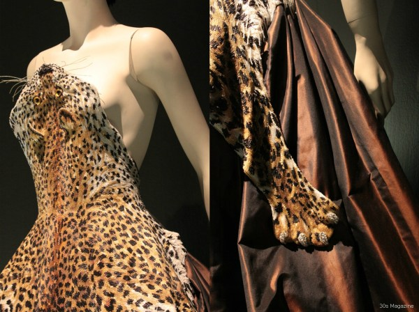 Jean Paul Gautier panther dress