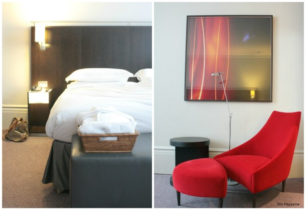 Andaz bed room